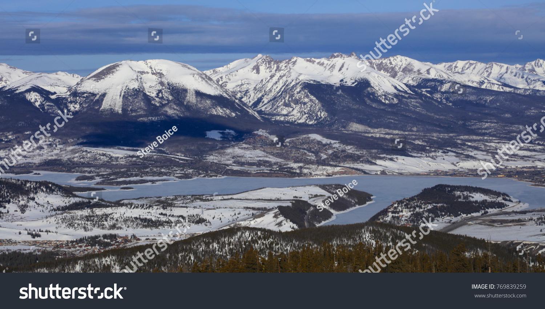 silverthorne frisco summit county keystone ski stock photo (edit now