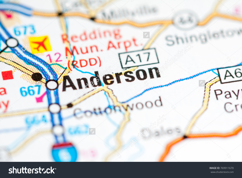 Anderson California Usa Stock Photo Edit Now 769911670 Shutterstock