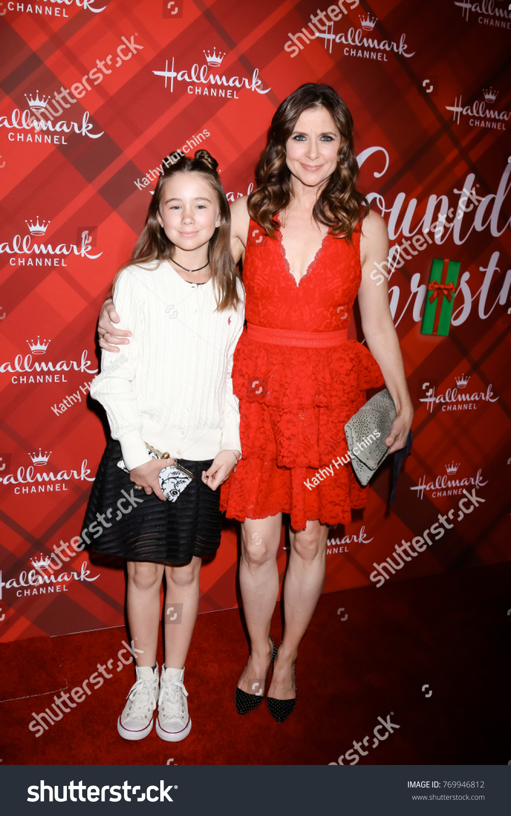 los angeles dec 4 margaret heather christian kellie martin at the christmas at - The Christmas Lodge