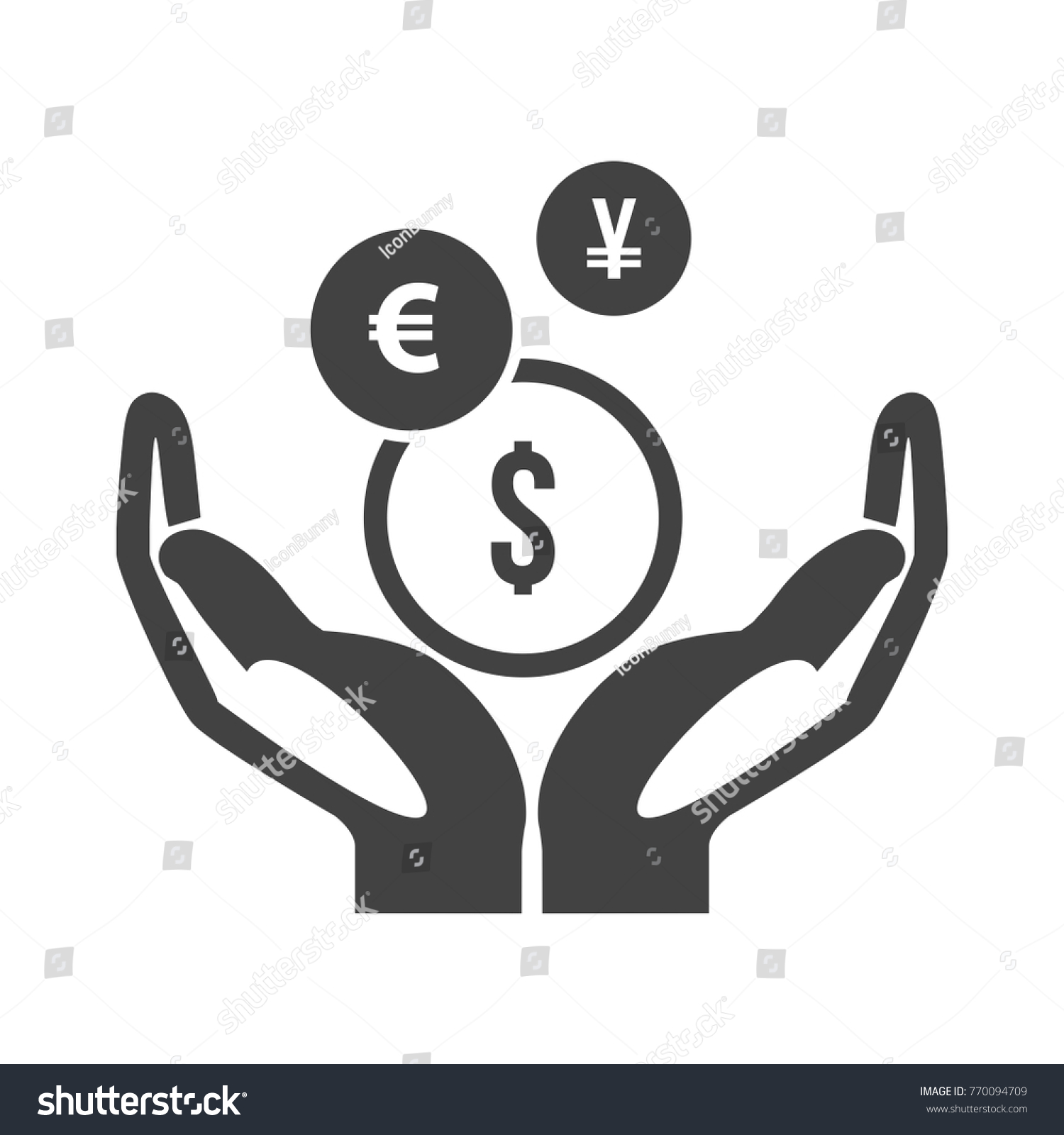 Mutual fund symbol stock vector 770094709 shutterstock mutual fund symbol biocorpaavc Images