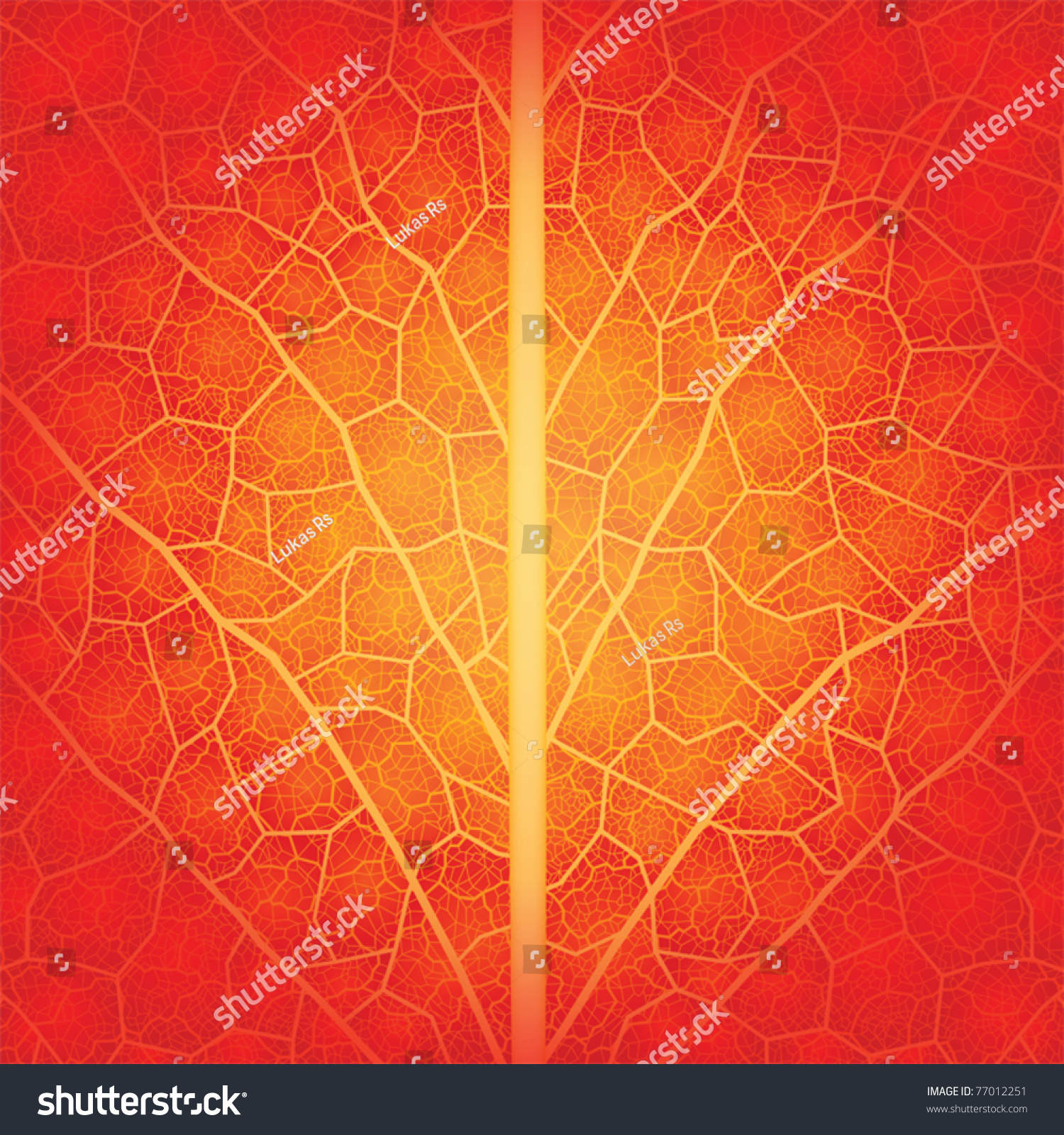 Creative background with leaf pattern. Vector drawn manually, without  tracing. File layered.
