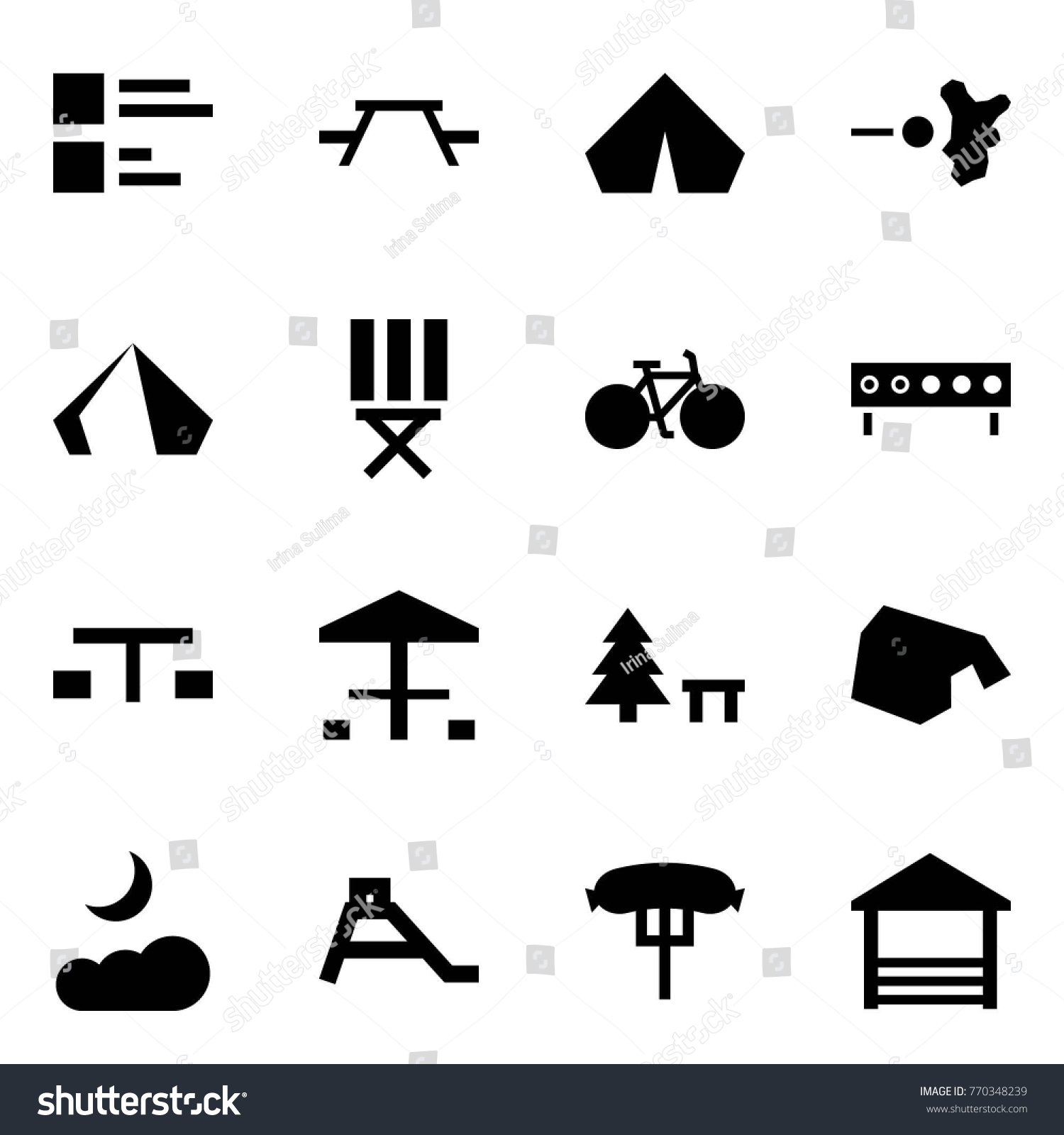 Origami style icon set comments vector stock vector 770348239 origami style icon set comments vector picnic table tent paintball stool biocorpaavc