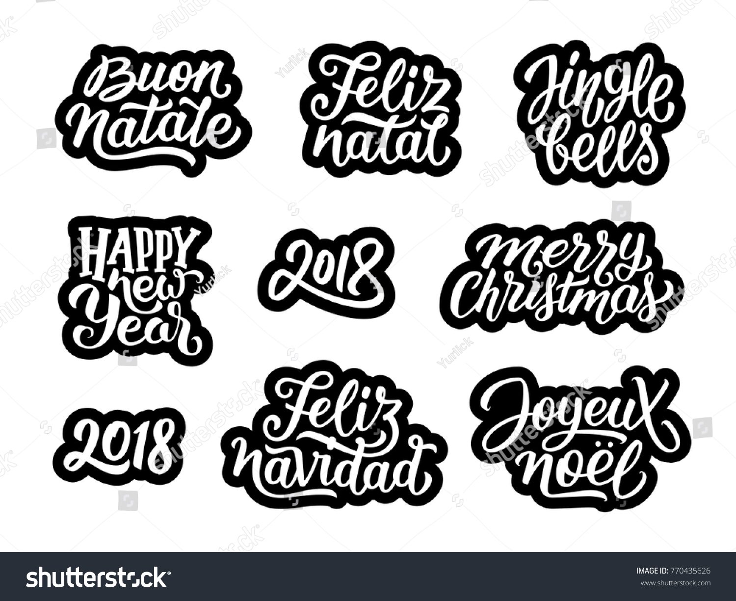 natal new year stickers merry christmas and happy new year 2018. Black Bedroom Furniture Sets. Home Design Ideas