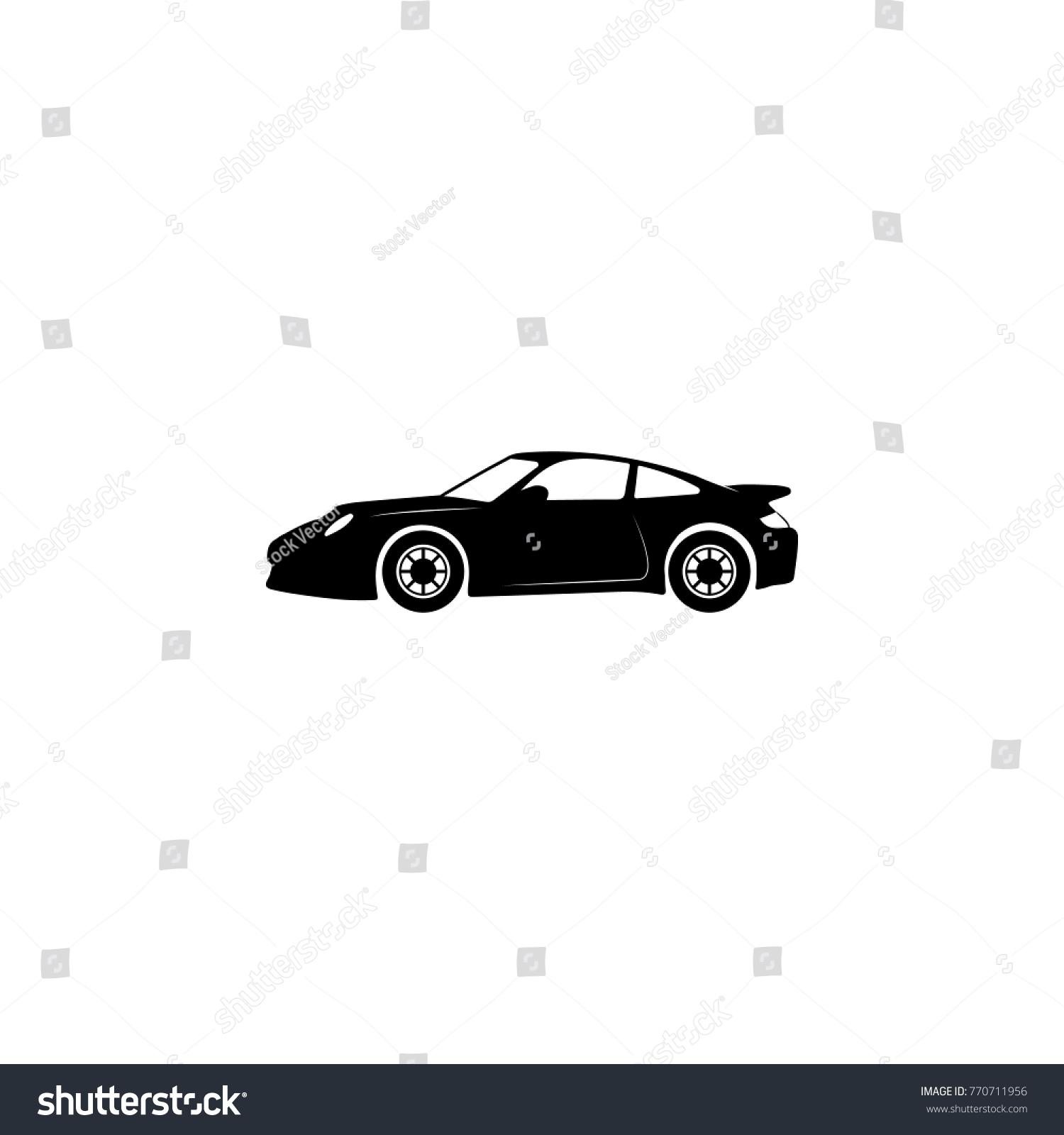 Sport Car Icon Illustration Transport Elements Stock Vector (2018 ...