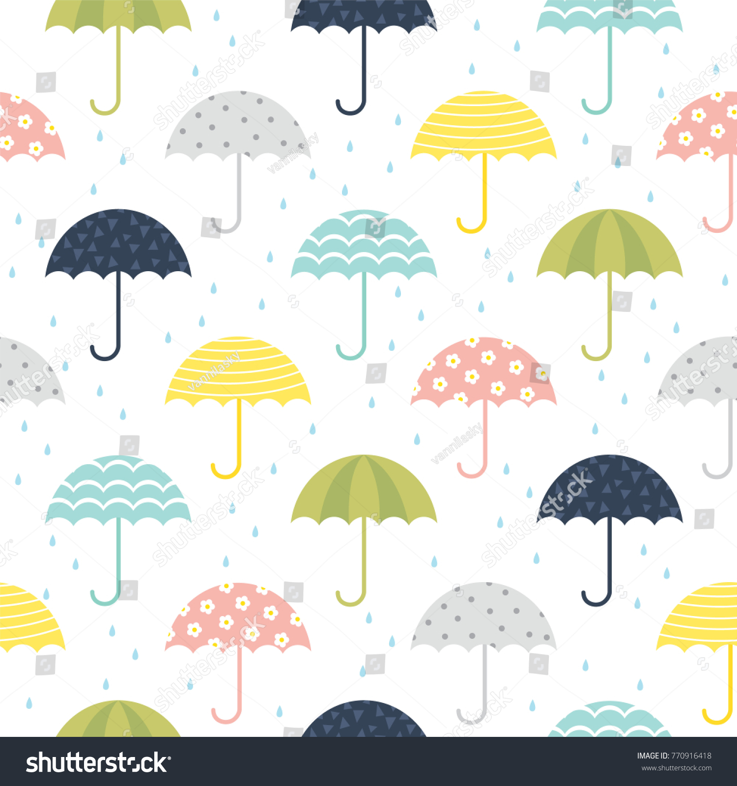 Umbrella Pattern Interesting Inspiration Ideas