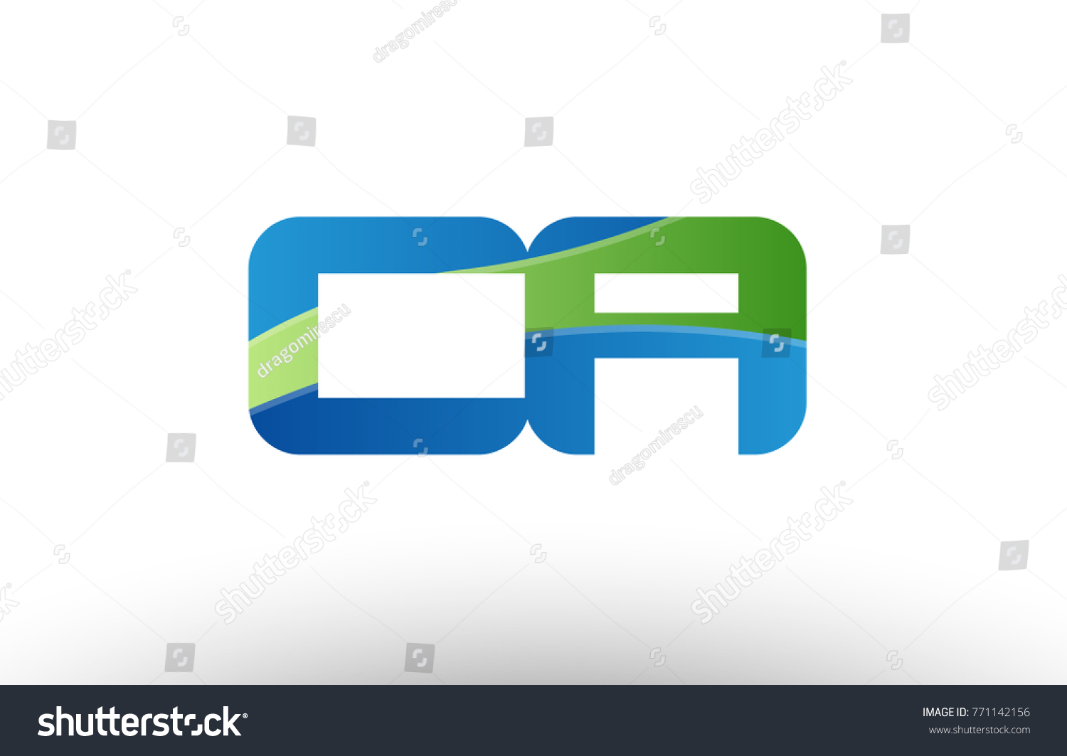 Design alphabet letter logo combination ca stock vector 771142156 design of alphabet letter logo combination ca c a with blue green color suitable as a logo biocorpaavc