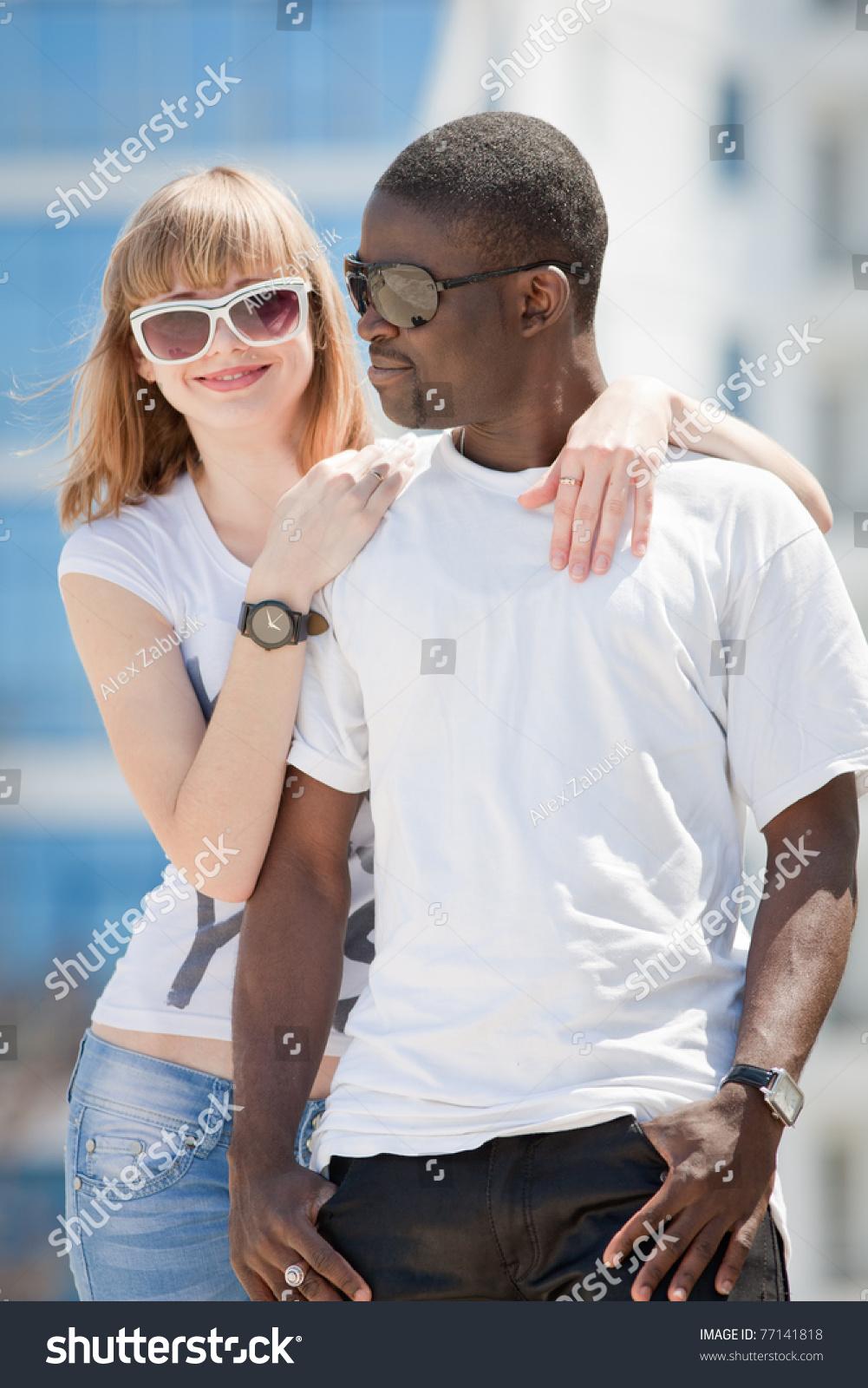 Black guy and girl