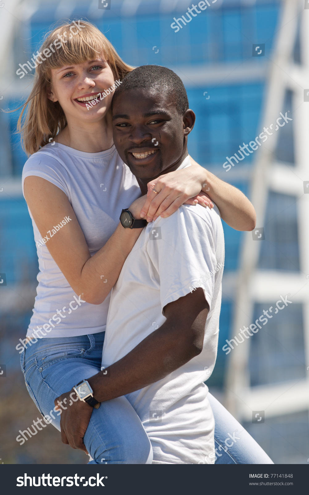 Movie where white girl dancer dating a black guy