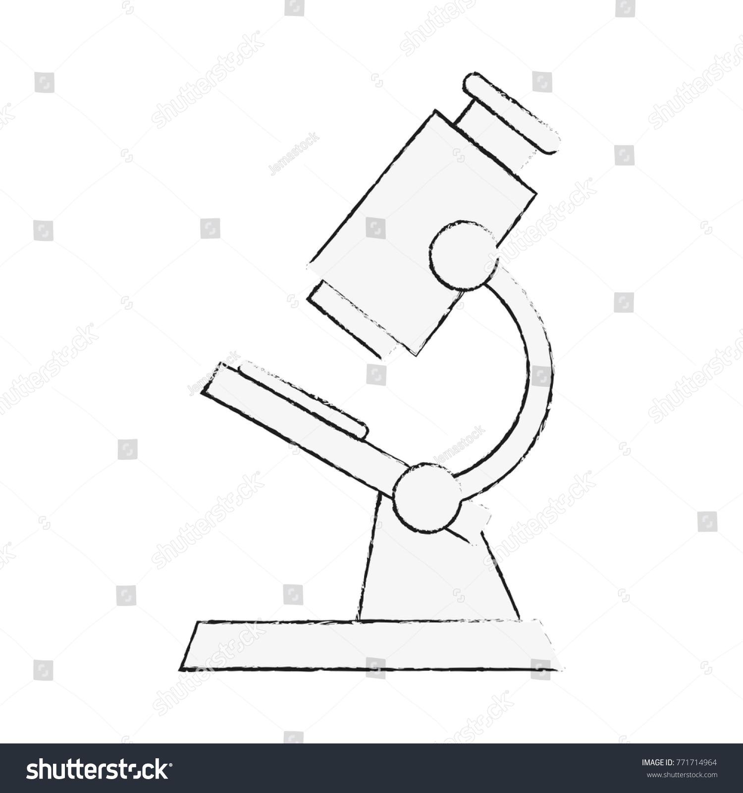 Microscope laboratory tool stock vector 771714964 shutterstock ccuart Gallery