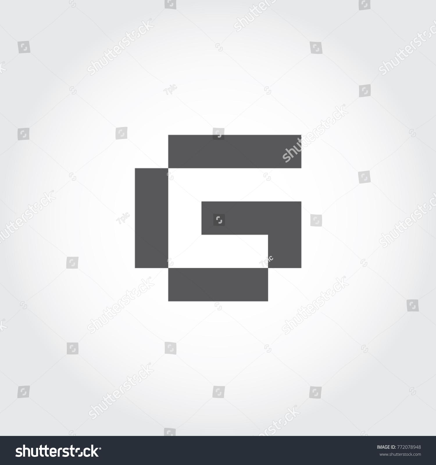 Pixel Font Digital Font Logo Icon Stock Vector 772078948 Shutterstock