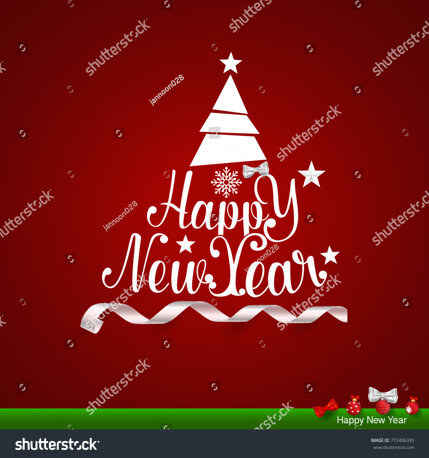 Merry christmas happy new year greeting stock vector royalty free merry christmas and happy new year greeting card vector illustration m4hsunfo