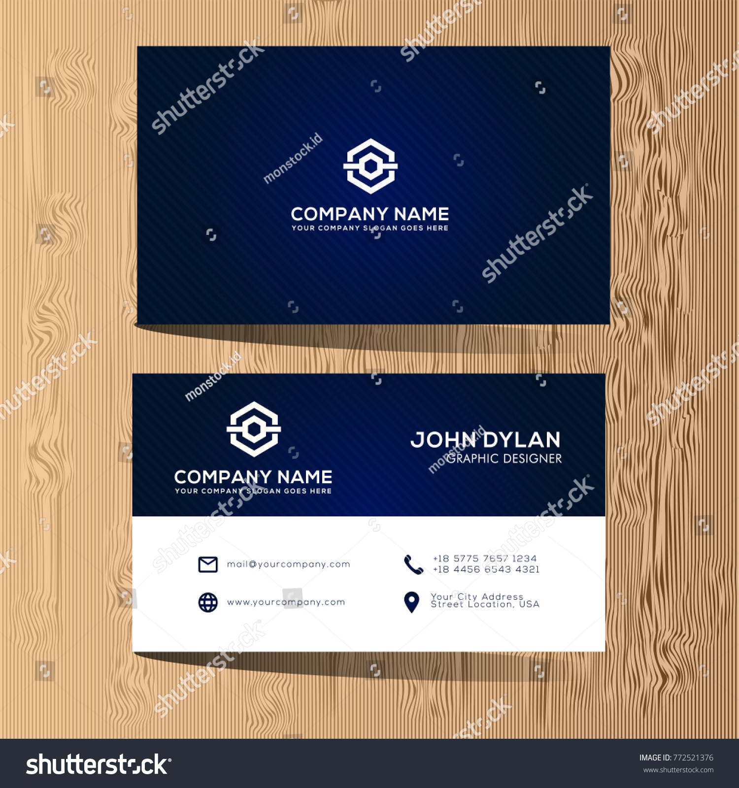Modern business card templates professional sophisticated stock modern business card templates professional and sophisticated vector illustration eps 10 flashek Images