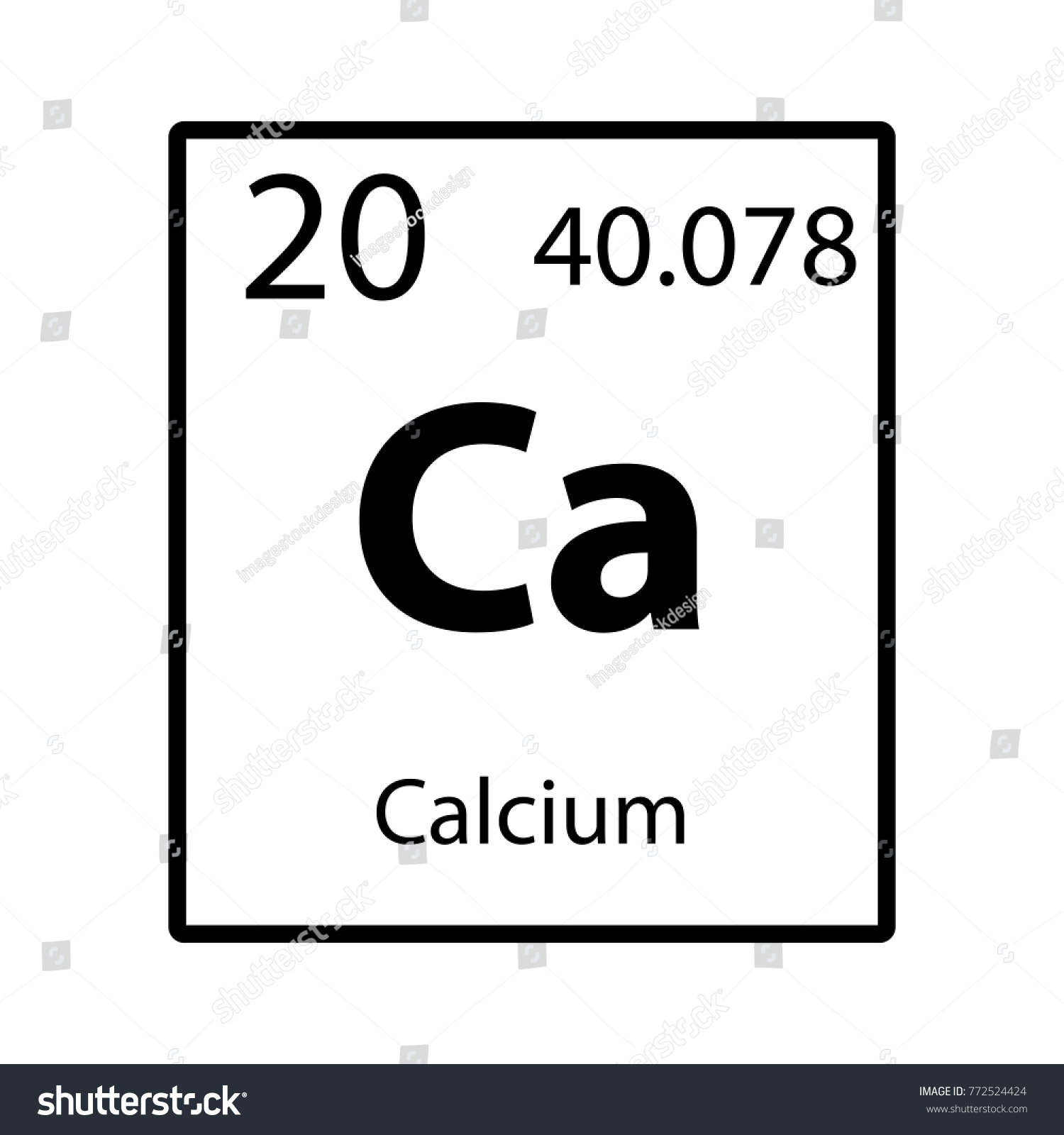 an analysis of the calcium element symbol The writer of the essay symbol as a literary element will be p 1)the metal form of calcium was a numerical analysis to determine stress.