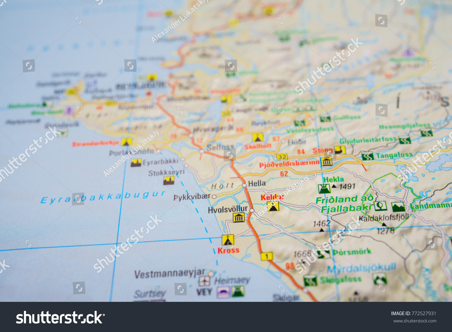 Iceland on map stock photo royalty free 772527931 shutterstock gumiabroncs Images