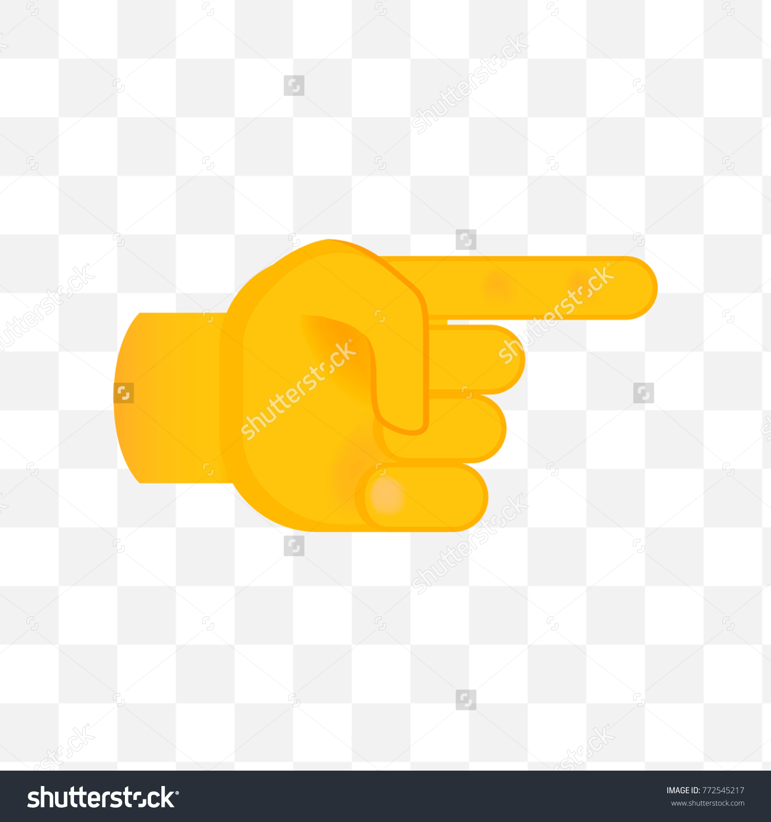 pointing hand on white background isolated stock vector royalty free 772545217 https www shutterstock com image vector pointing hand on white background isolated 772545217