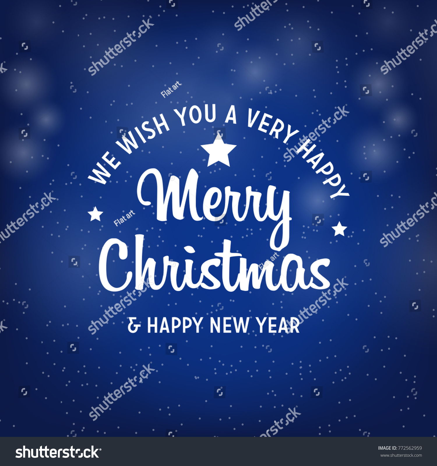 Christmas Happy Newyear Greeting Card Christmas Stock Photo Photo