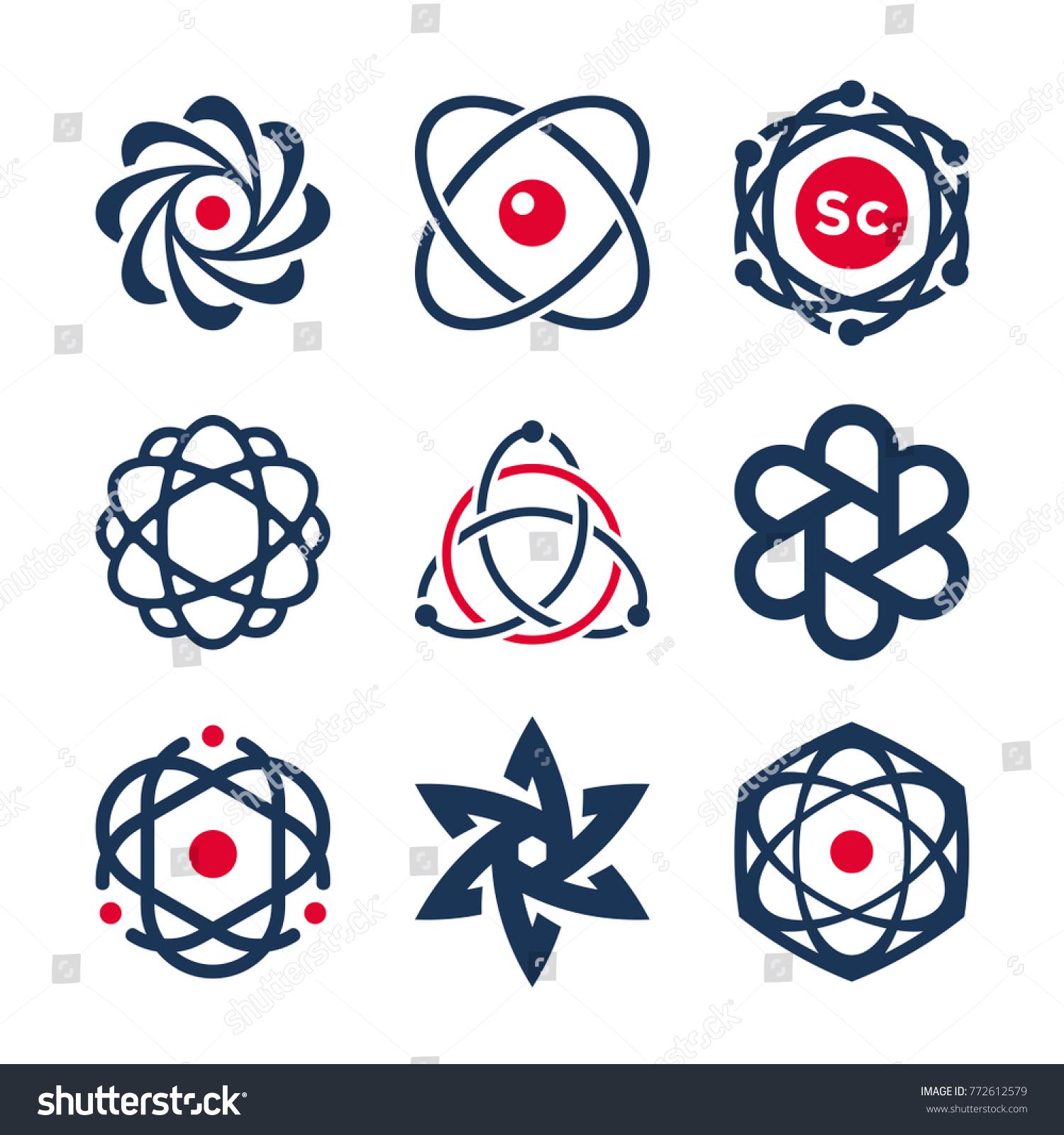 Symbols chemistry map maker mac science symbols atom molecule icons chemistry stock vector stock vector science symbols atom and molecule icons buycottarizona