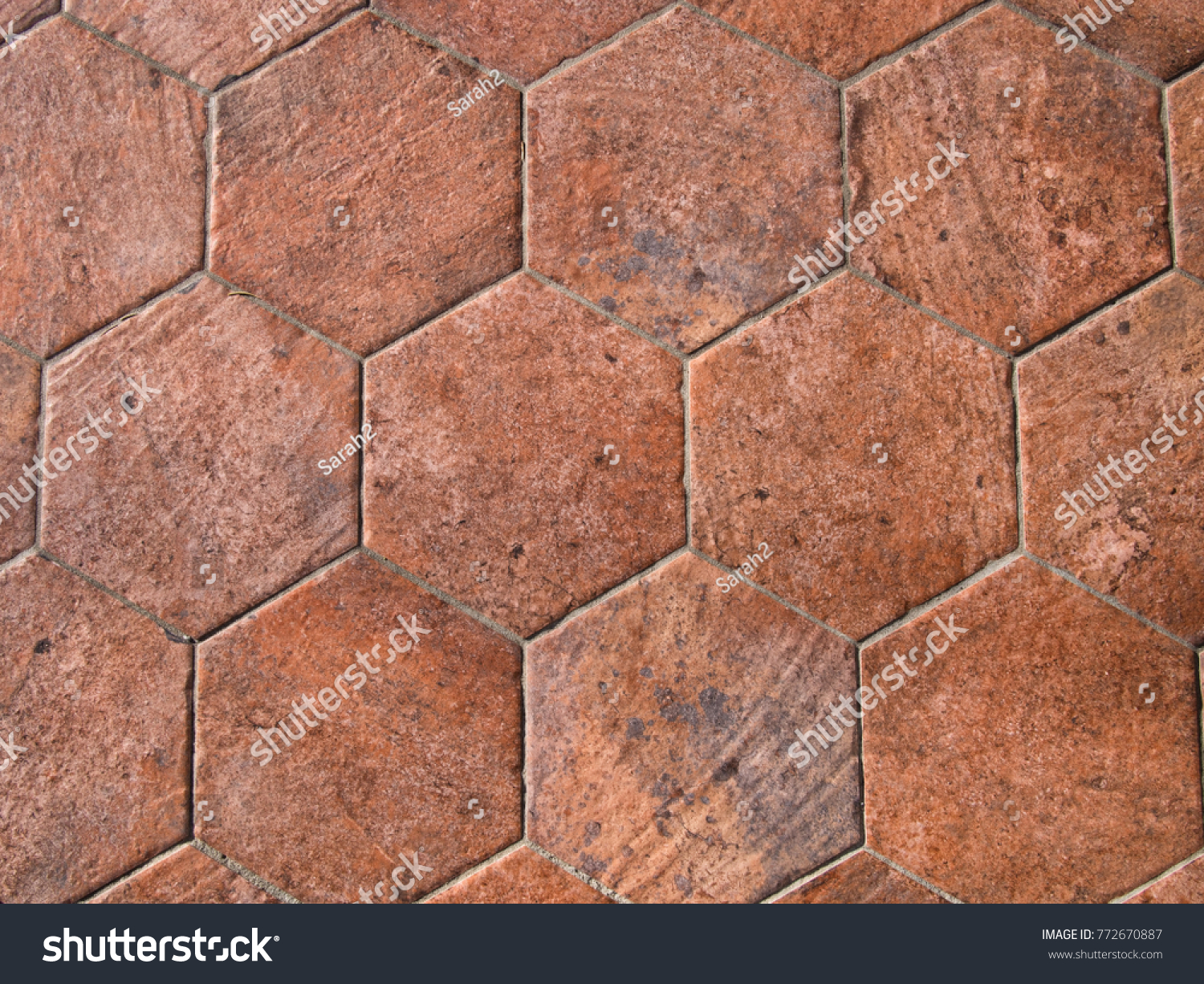 Red brick floor tiles images home flooring design vintage italian hexagonal red brick floor stock photo 772670887 hexagonal red brick floor tiles marialoaizafo images dailygadgetfo Choice Image