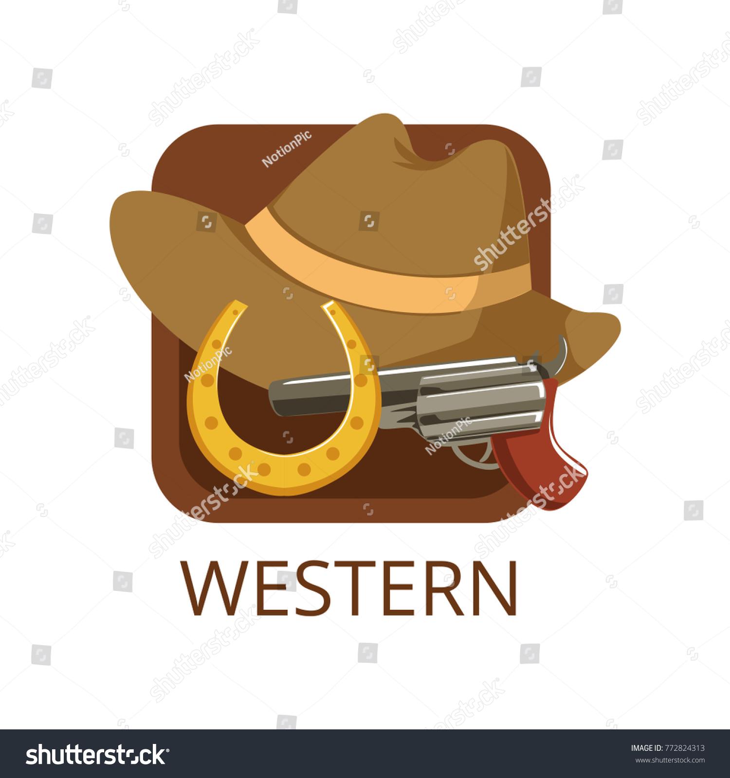 Western cinema genre symbol cinema channel stock vector 772824313 western cinema genre symbol for cinema or channel cinematography movie production vector illustration biocorpaavc