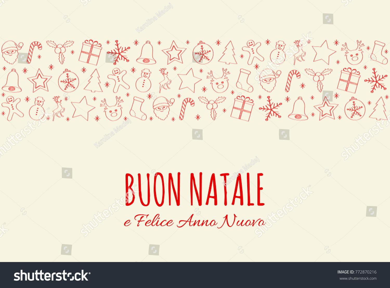 Buon natale merry christmas italian christmas stock vector buon natale merry christmas italian christmas stock vector 772870216 shutterstock kristyandbryce Images