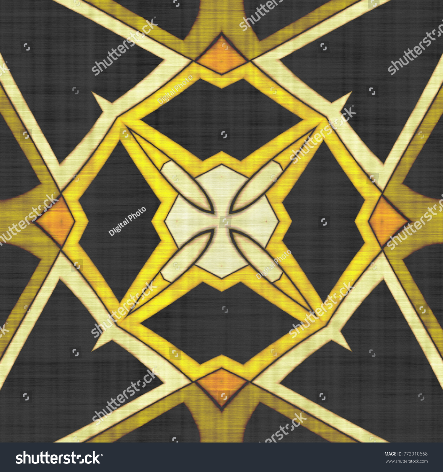 kaleidoscope abstract | EZ Canvas