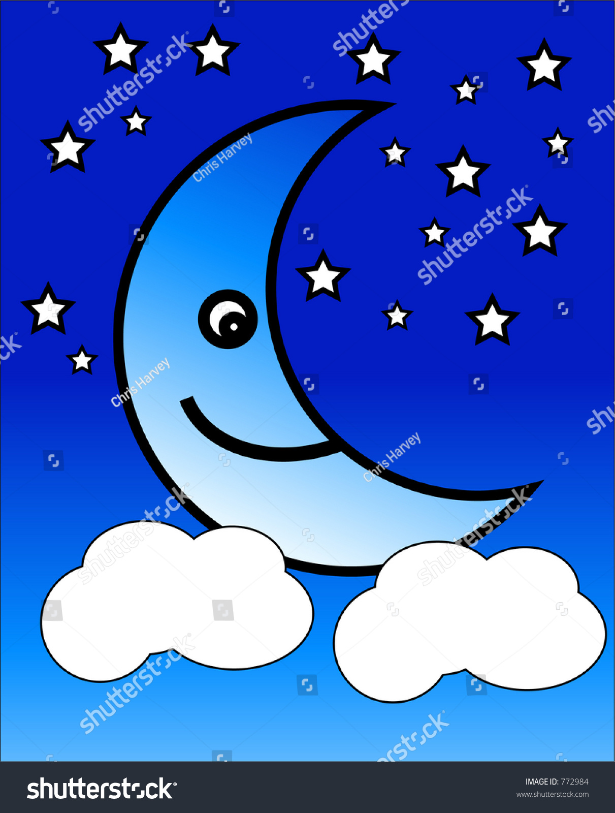 This crescent moon symbol stock illustration 772984 shutterstock this is a crescent moon symbol biocorpaavc Gallery