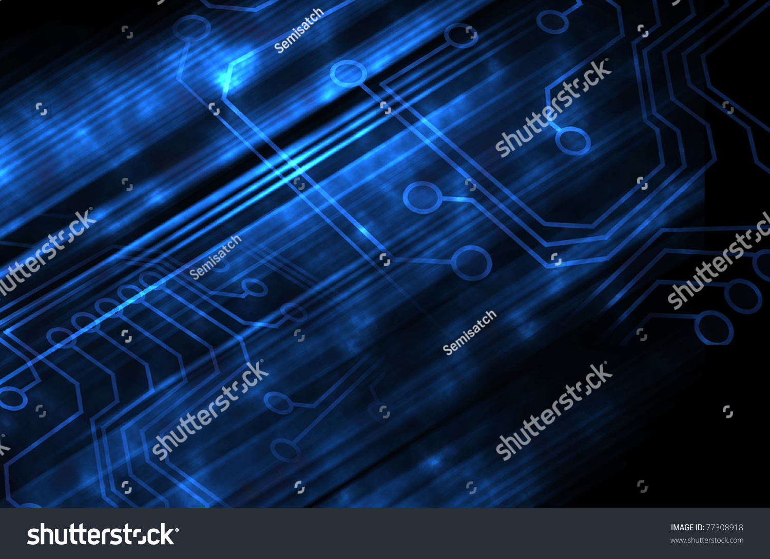 Microchip Background Stock Photo 77308918 : Shutterstock