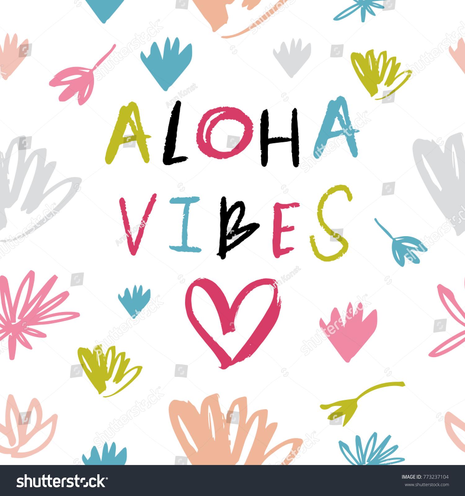 vector clip art hand drawn pattern stock vector 773237104 shutterstock rh shutterstock com aloha friday clipart aloha clipart free