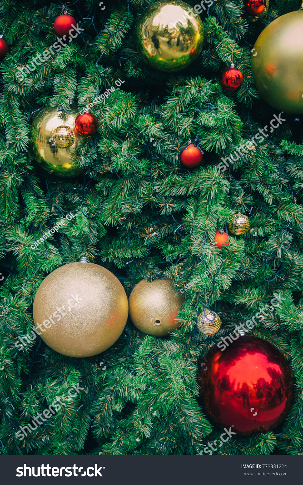 vintage hipster tone christmas tree hanging stock photo edit now