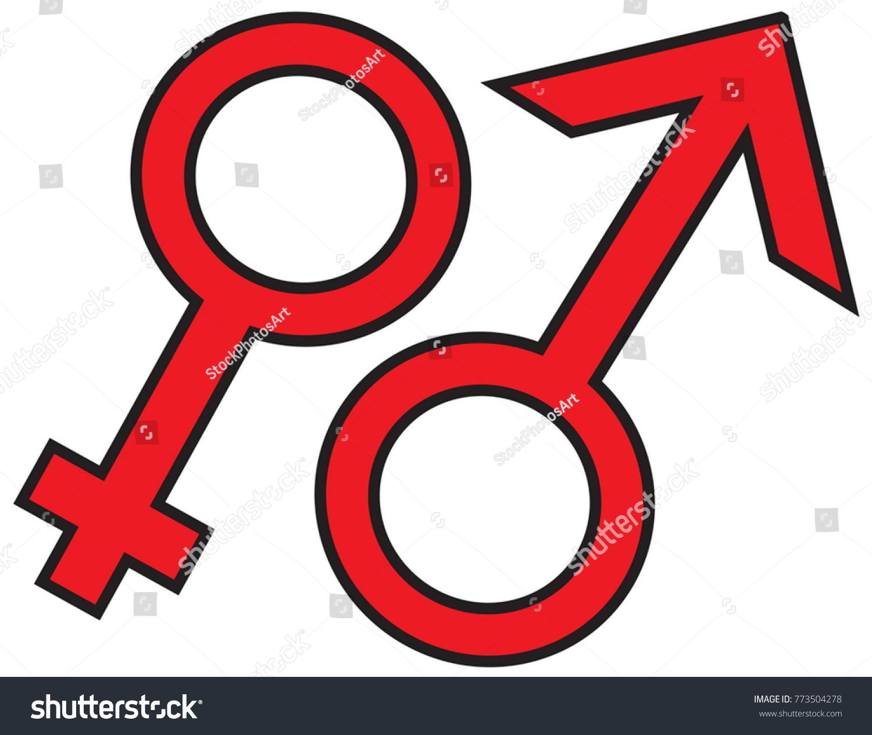 Gender symbols isolated on white background stock vector 773504278 gender symbols isolated on white background for representation of women men and heterosexual homosexual buycottarizona