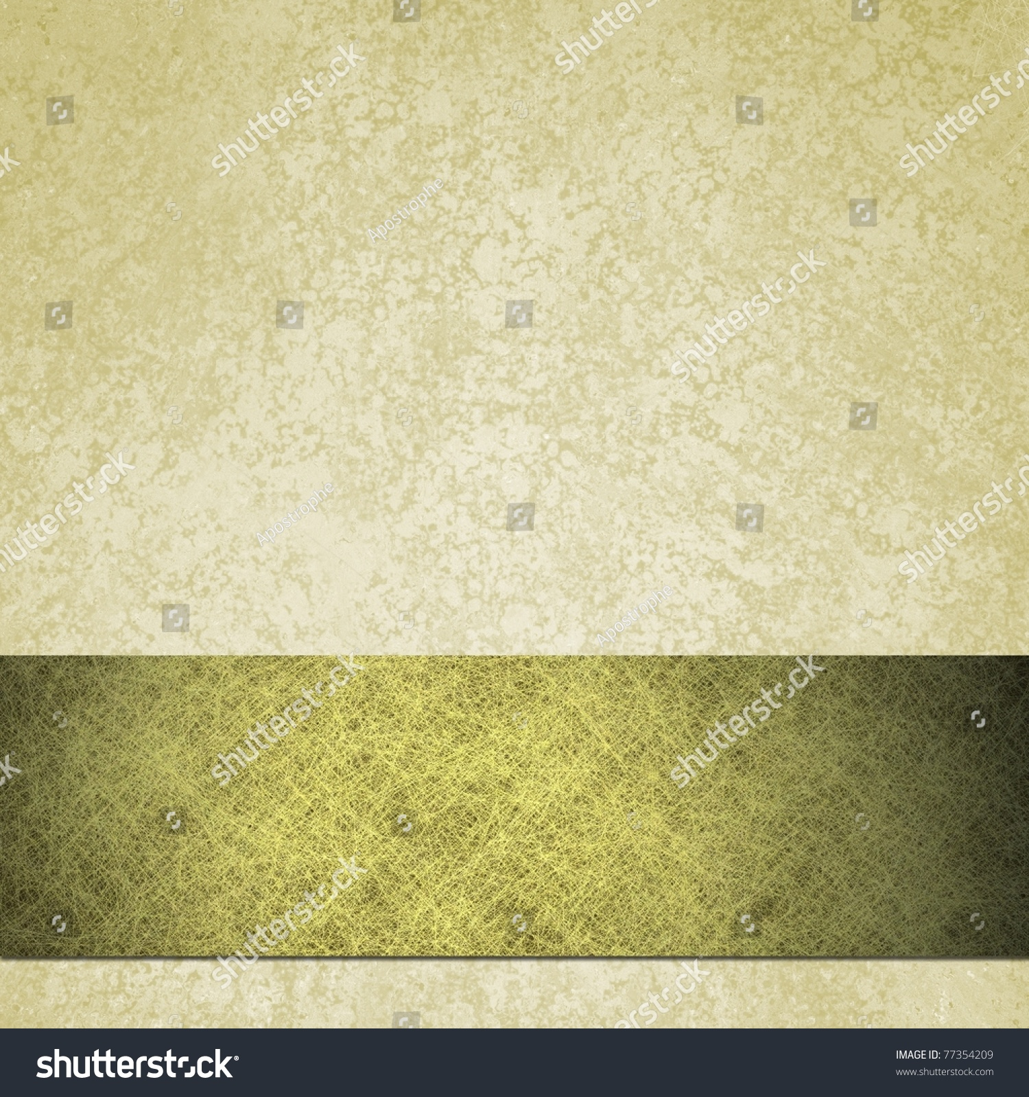 Off White Background Lots Antique Grunge Stock