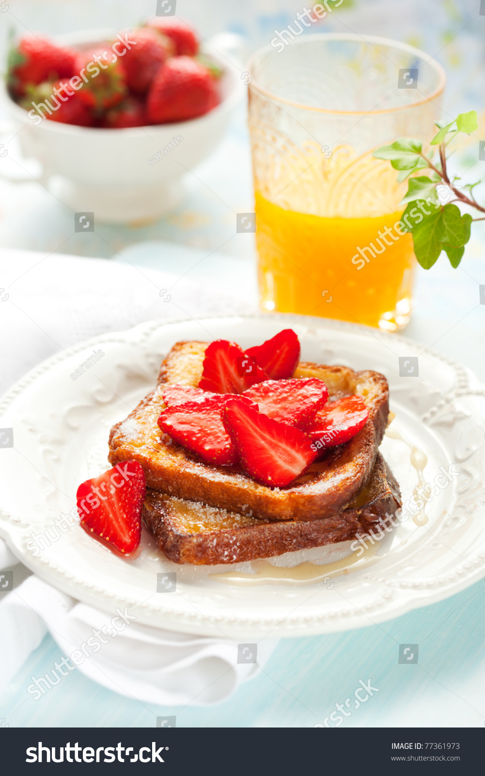 how to make french toast with sugar