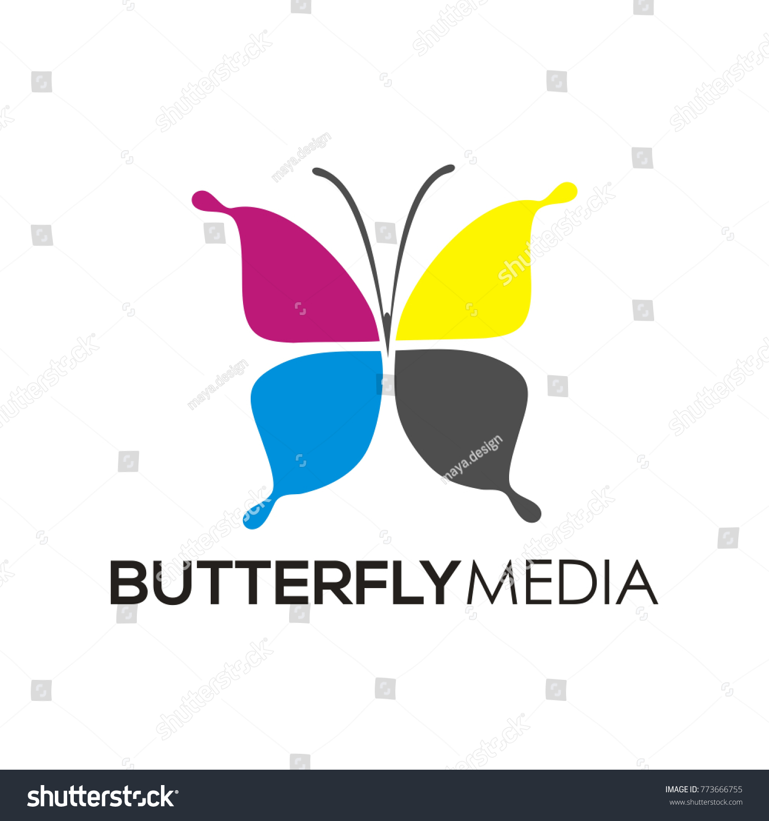 Butterfly media logo icon print design stock vector 773666755 butterfly media logo icon print design stock vector 773666755 shutterstock pronofoot35fo Choice Image