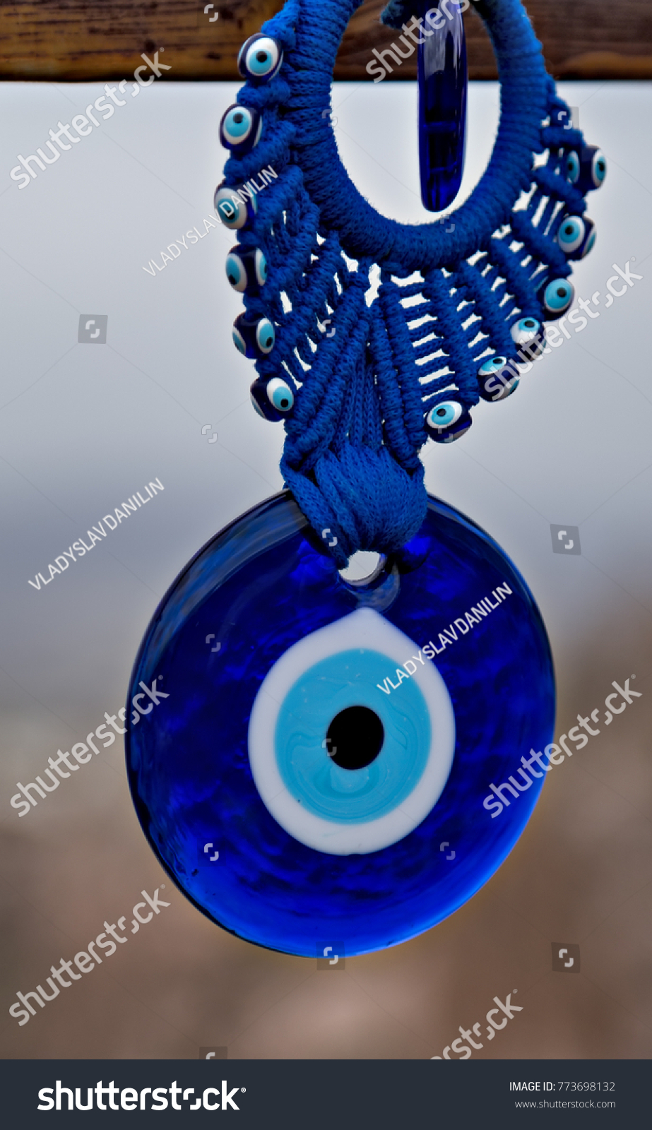 Nazar eyeshaped amulet believed protect against stock photo nazar eye shaped amulet believed to protect against the evil eye biocorpaavc