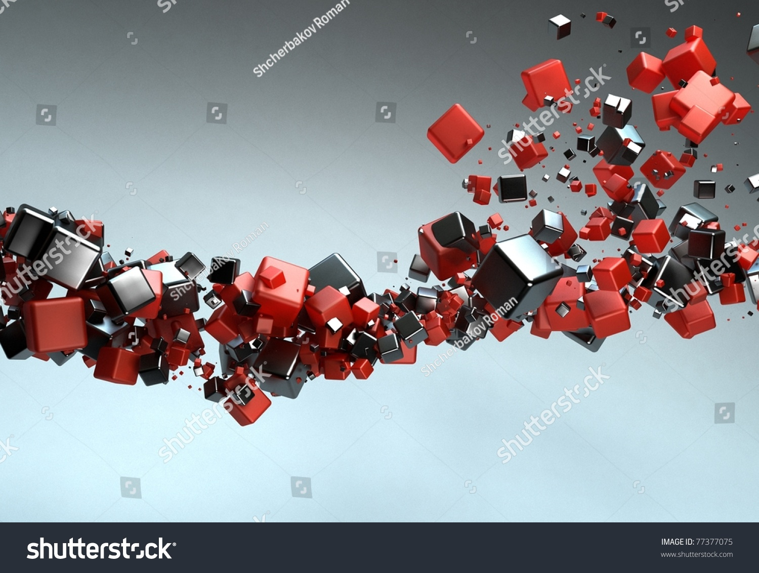 Abstract Particles Stock Photo 77377075 : Shutterstock