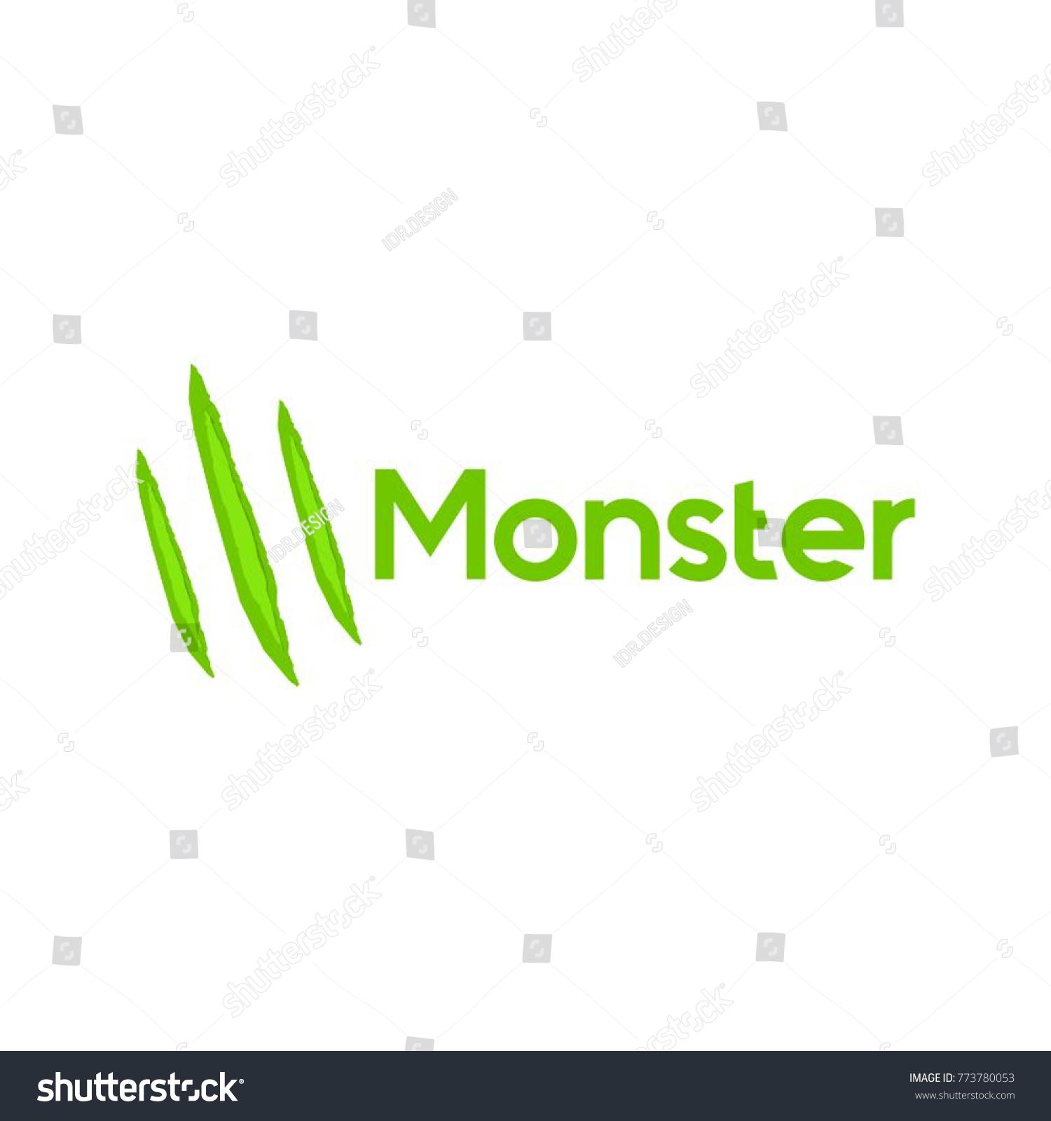 monster logo vector stock vector royalty free 773780053 shutterstock
