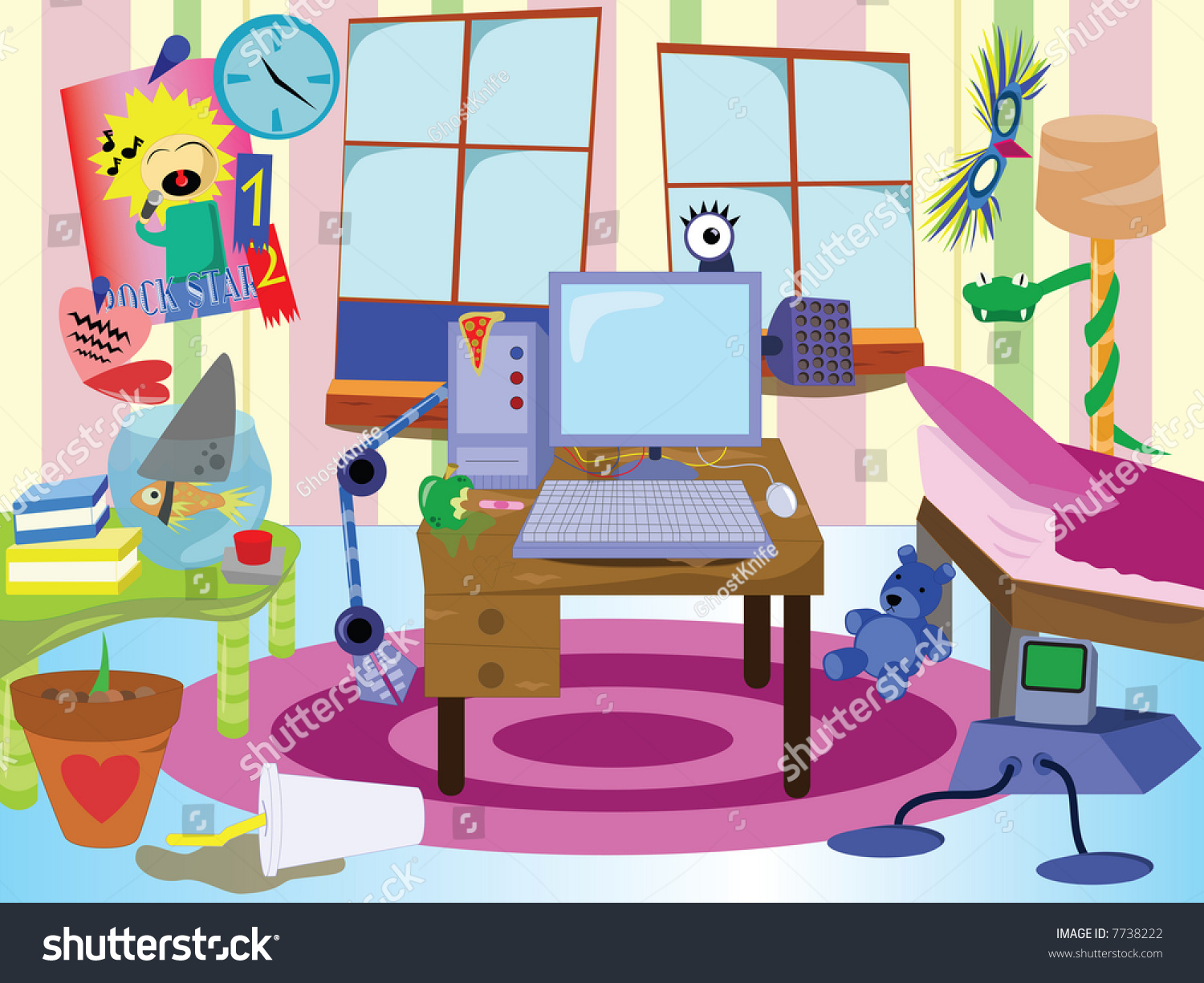 messy house clipart - photo #19