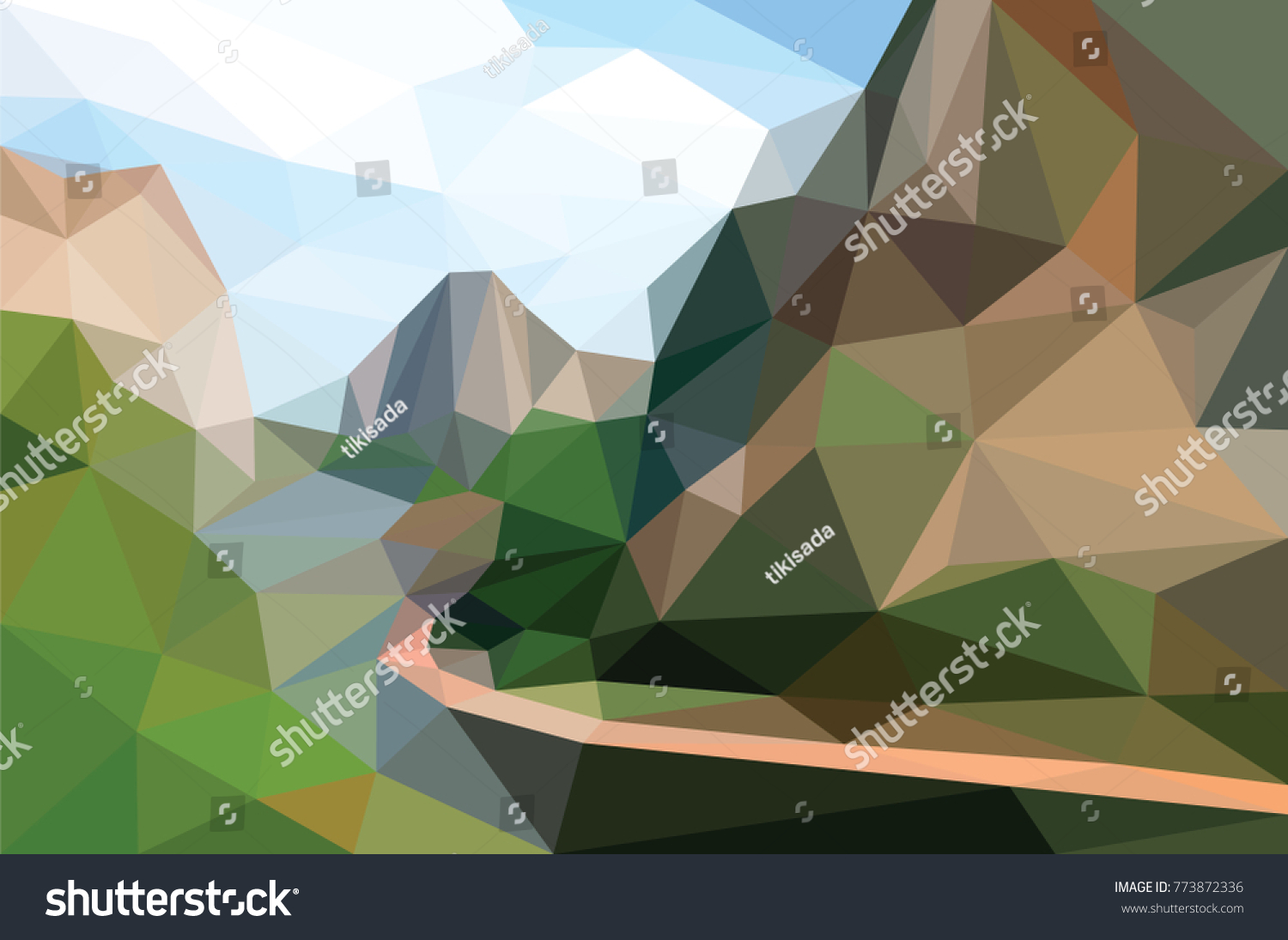 Must see Wallpaper Mountain Polygon - stock-vector-hill-lake-mountain-low-polygon-background-forest-tree-vector-wallpaper-colorful-geometric-pattern-773872336  Pic_877796.jpg