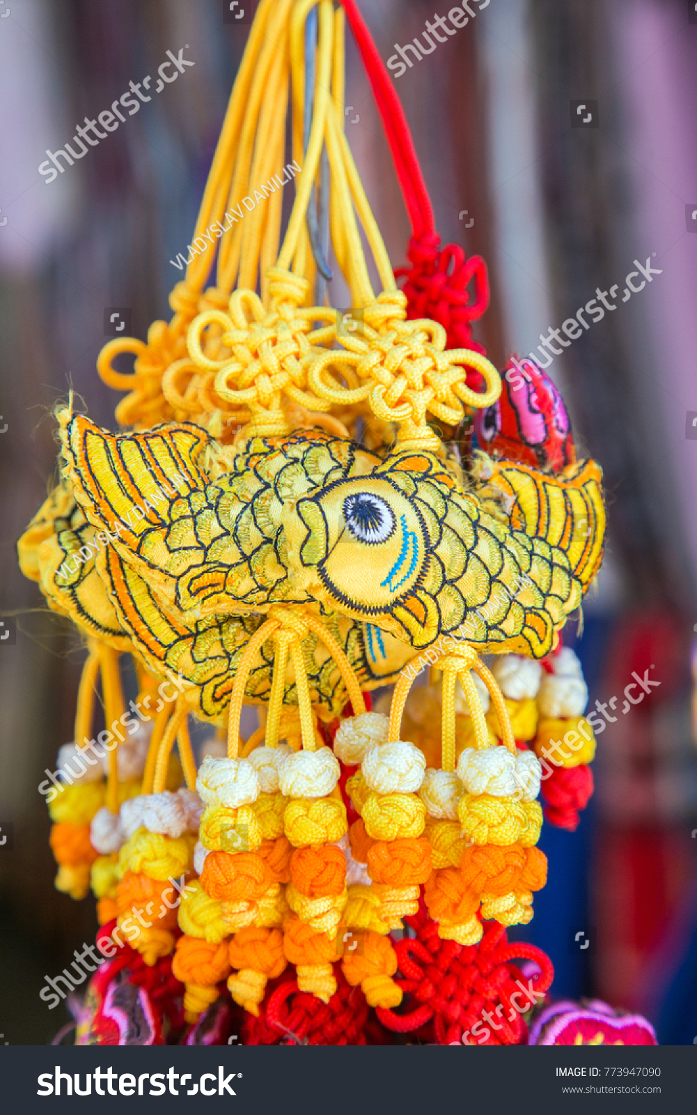 China amulet traditional chinese good luck stock photo 773947090 china amulet traditional chinese good luck knots with carp symbols of rich happiness biocorpaavc