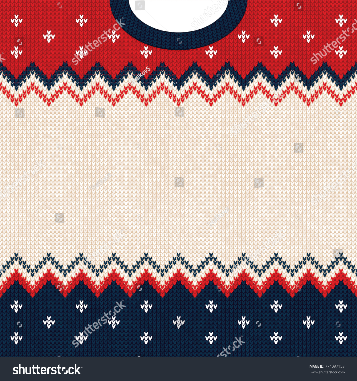 Ugly Sweater Merry Christmas Happy New Stock Vector (Royalty Free ...