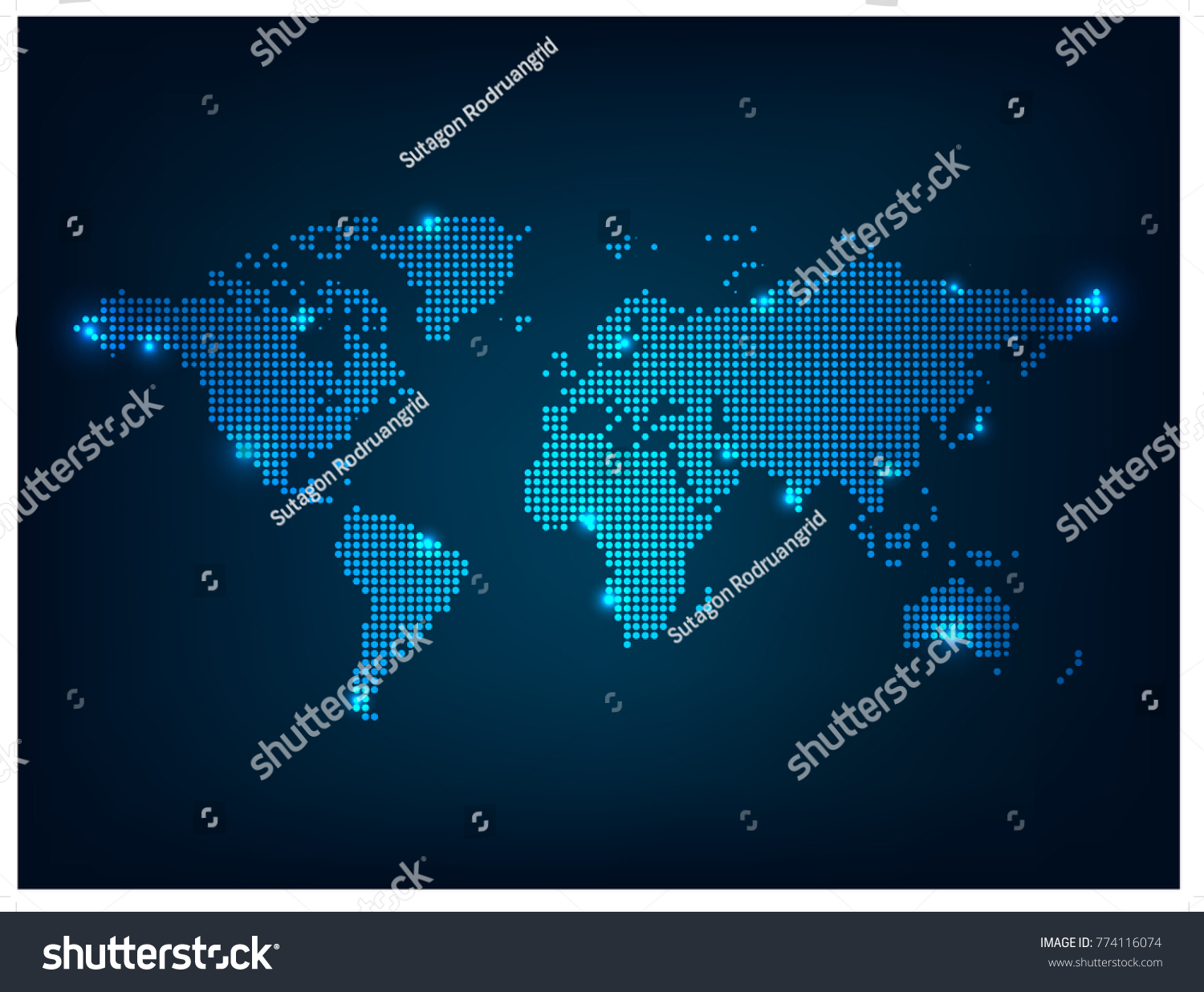 World map point scales on dark vectores en stock 774116074 world map point scales on dark background wire frame 3d mesh polygonal network line gumiabroncs Image collections