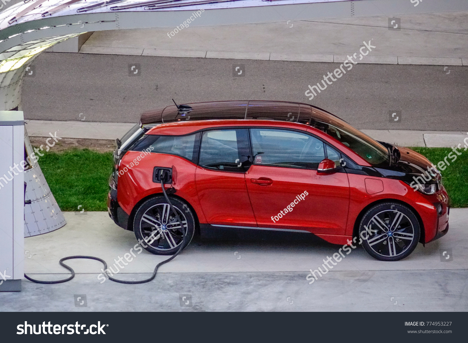 Bmw I 3 First Premium Allelectric Car Stock Photo Edit Now