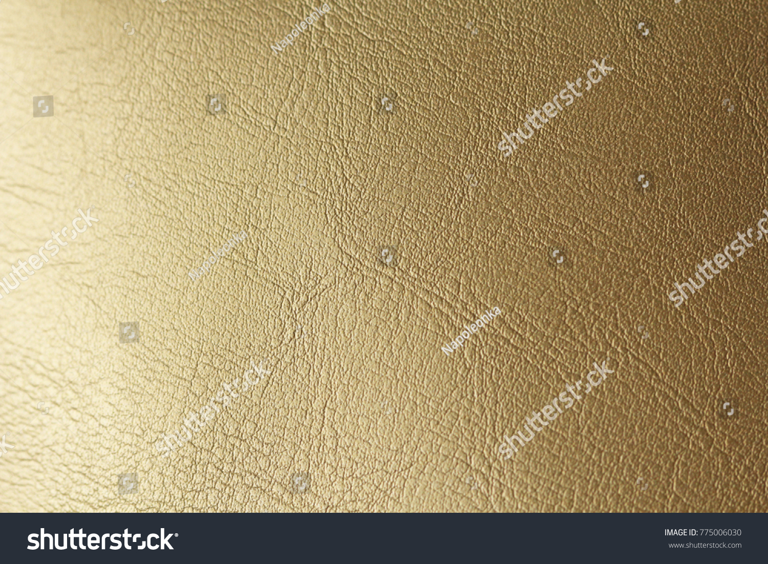 1ace468f9cd77f Gold Gradient Background. Gold or Bronze Natural Leather Background. Shiny  yellow leaf gold foil