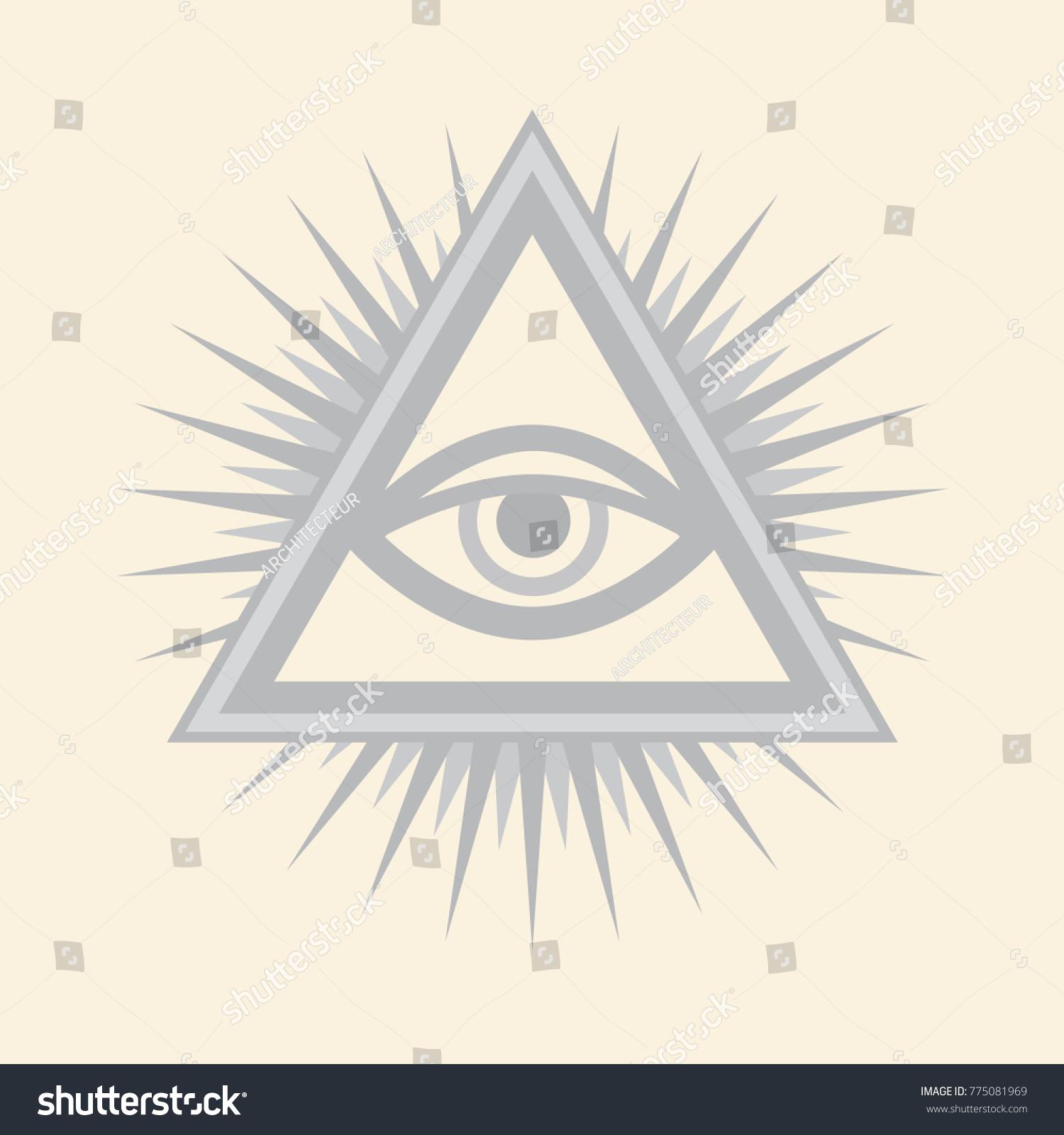 Allseeing eye god the eye providence stock vector 775081969 all seeing eye of god the eye of providence eye of omniscience biocorpaavc