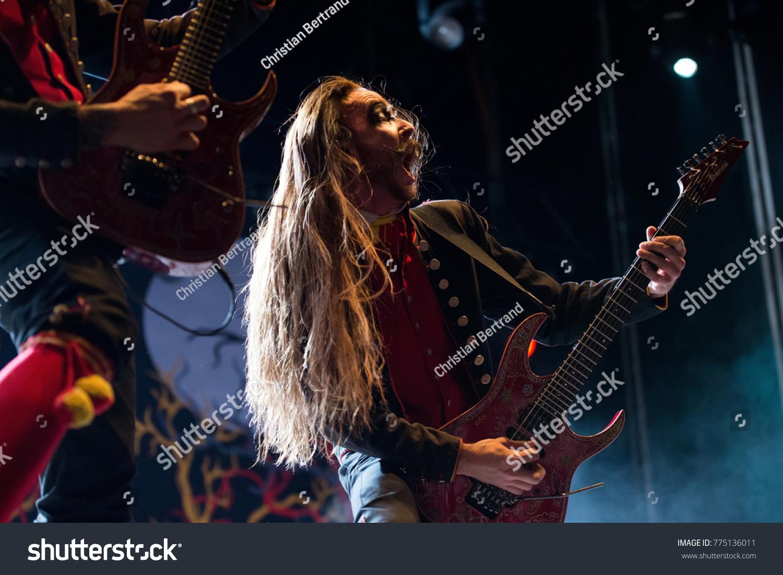 Madrid Jun 24 Avatar Music Band Stock Photo Edit Now 775136011