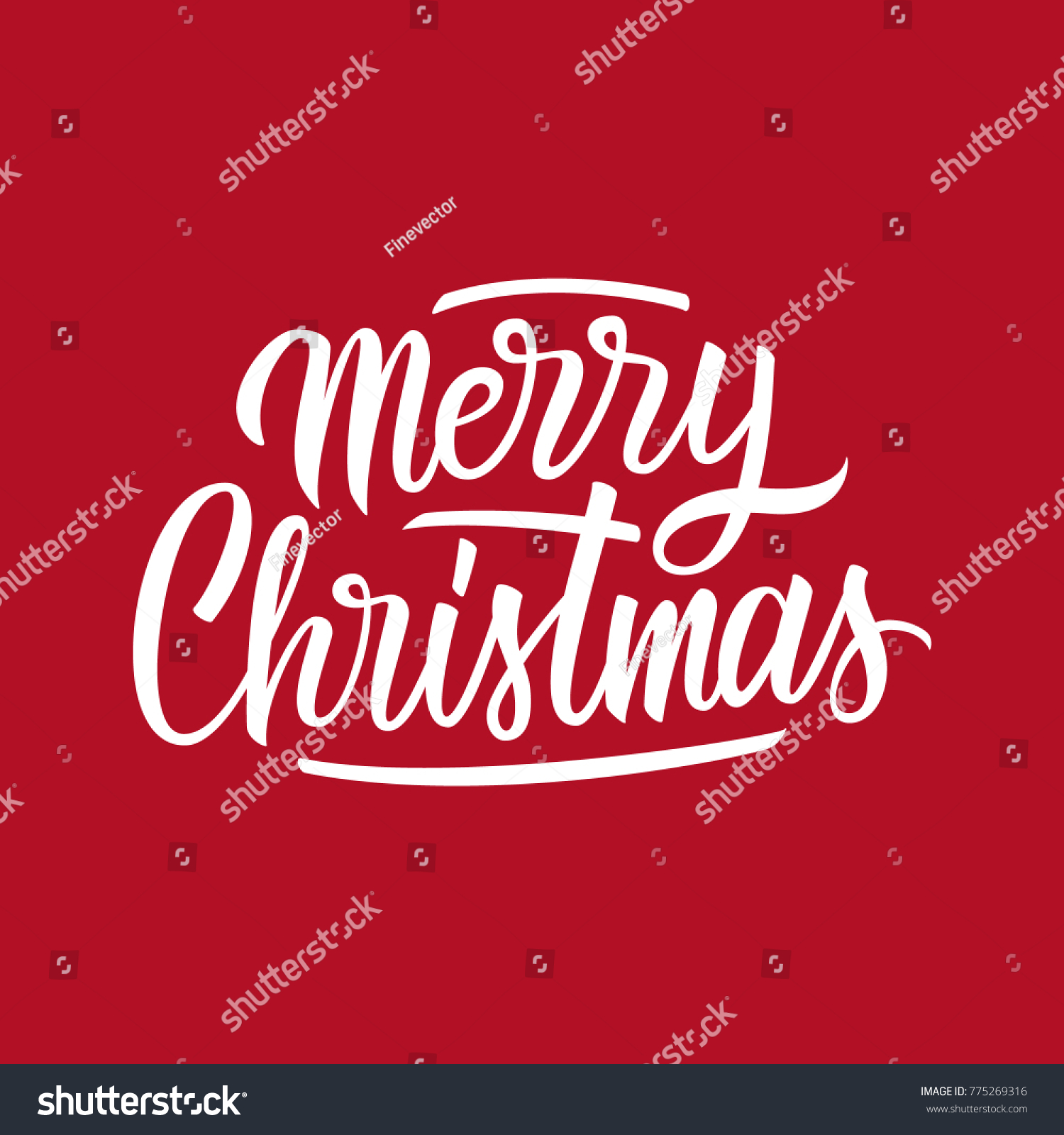 Merry christmas hand drawn lettering text stock vector 775269316 merry christmas hand drawn lettering text design card template creative typography for holiday greetings kristyandbryce Choice Image