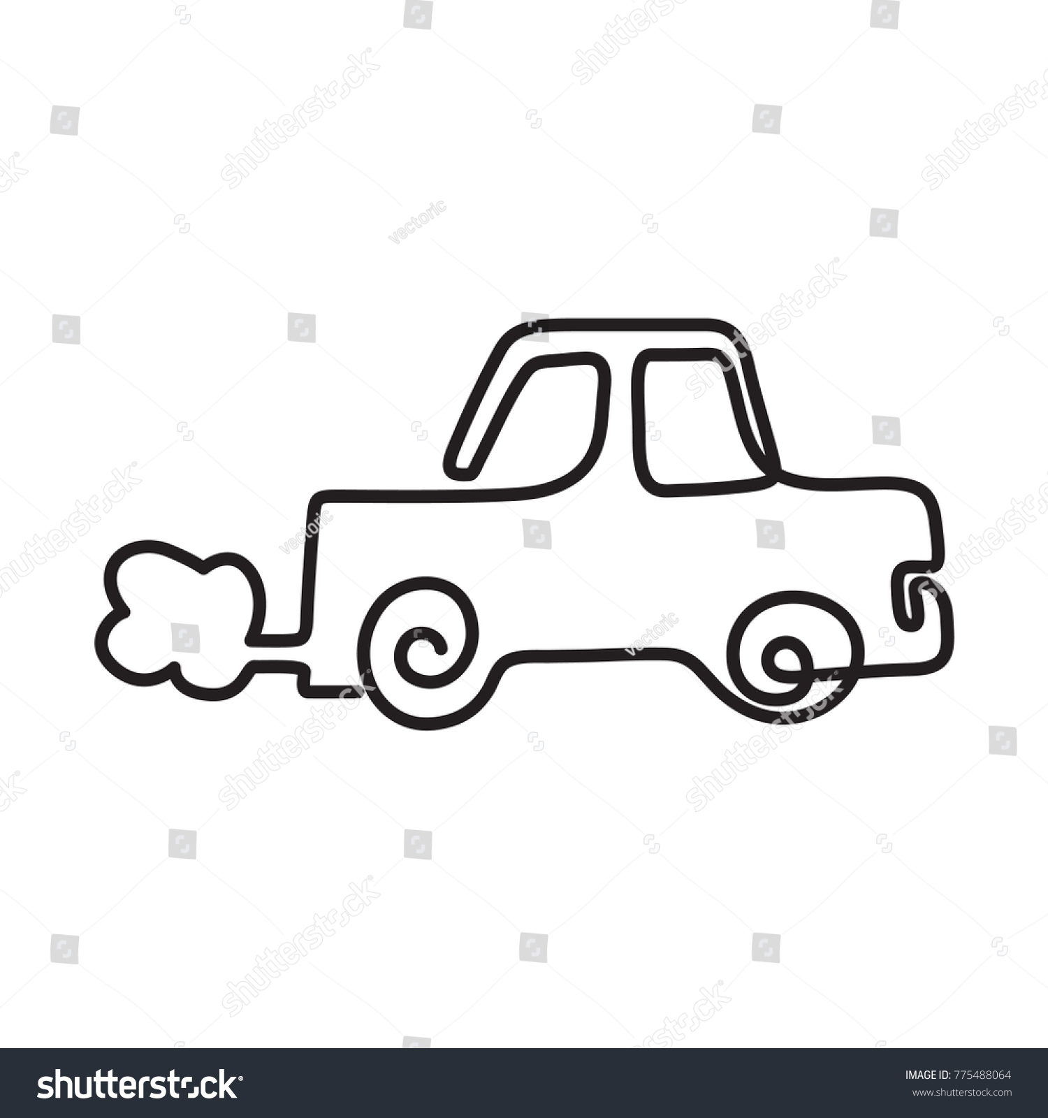 Cool Line Drawings Of Cars Ideas - The Best Electrical Circuit ...