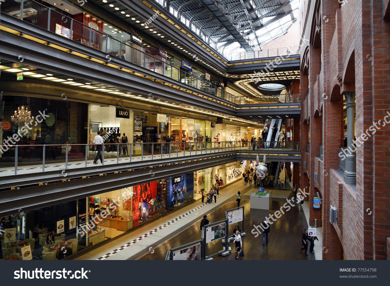 Poznan, Poland  May 14 Shopping, Arts And Business Center  Stary Browa   -> Projekt Kuchnia Stary Browar Poznan