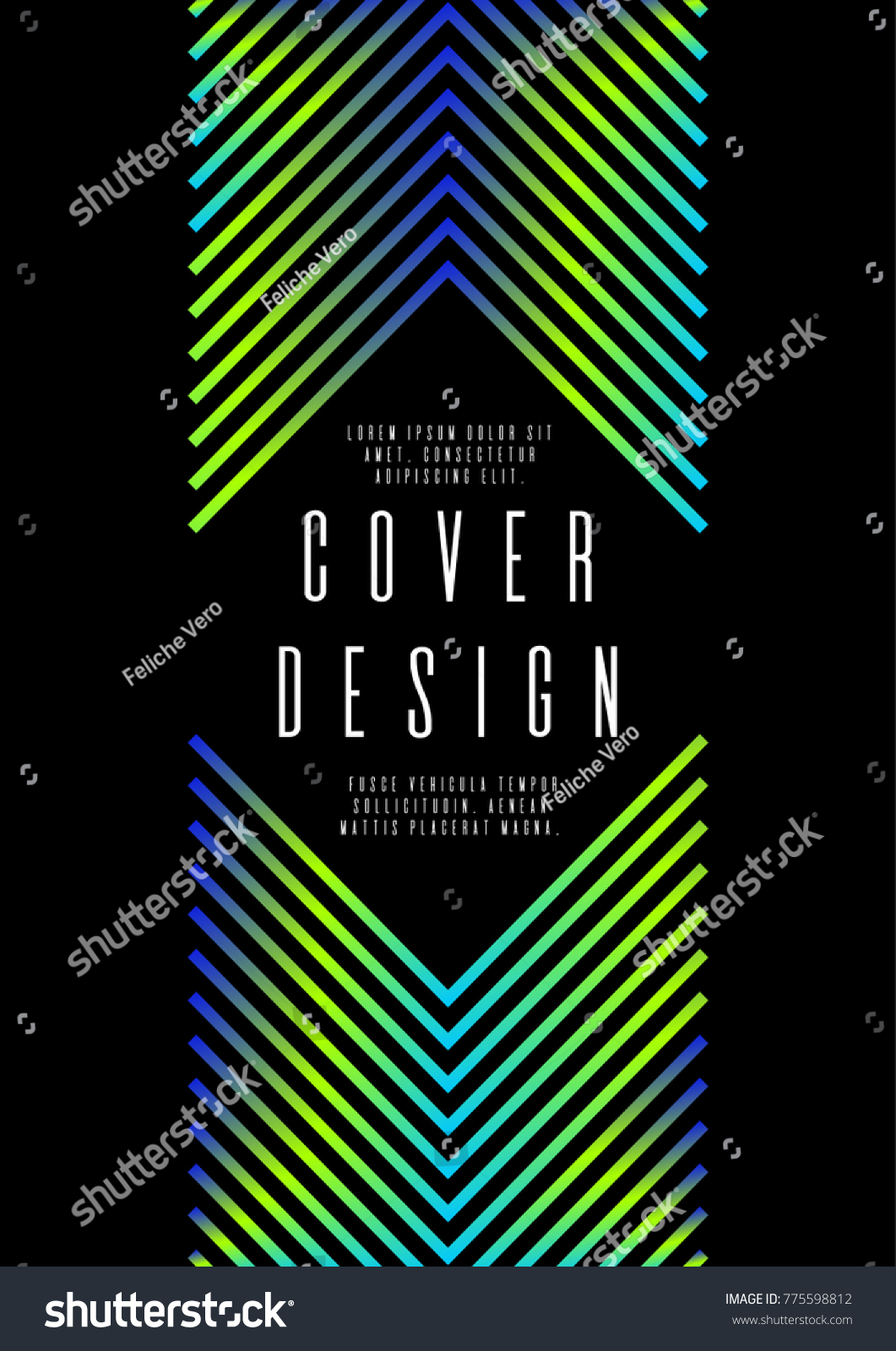 Memphis Background Corporate Style Business Card Stock Vector HD ...
