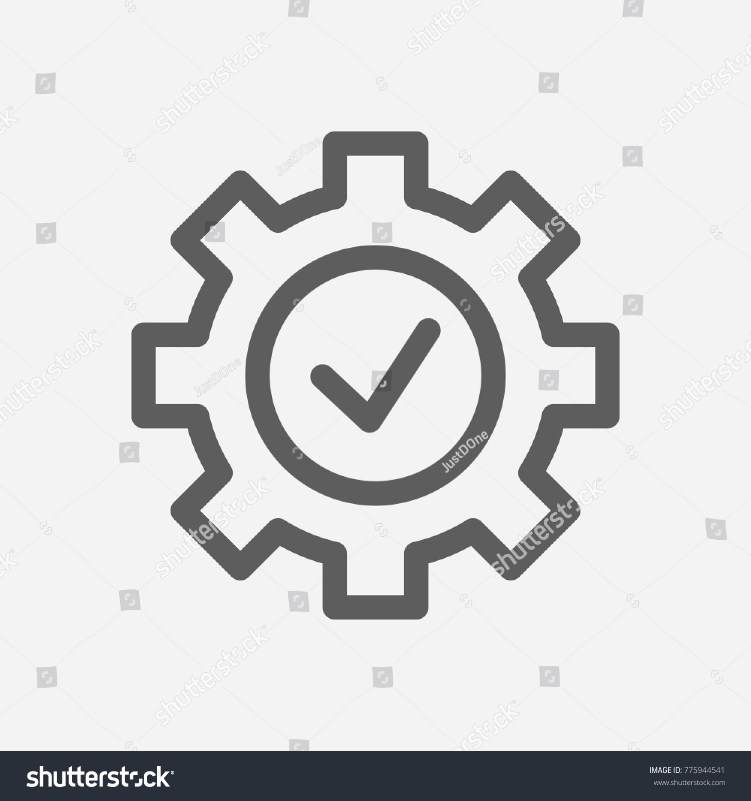 Core values expertise icon line symbol stock illustration core values expertise icon line symbol isolated illustration on core values check sign concept biocorpaavc Image collections
